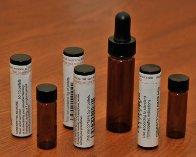 Classical Homeopathy Vials